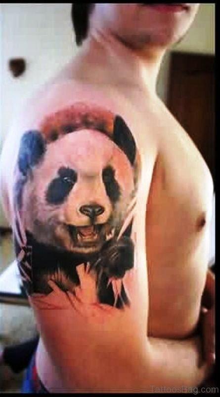 Nice Panda Tattoo