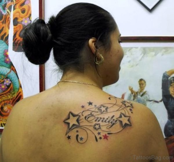 Nice Star Tattoo Design