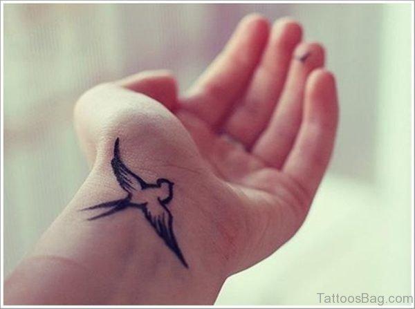 Nice Swallow Tattoo