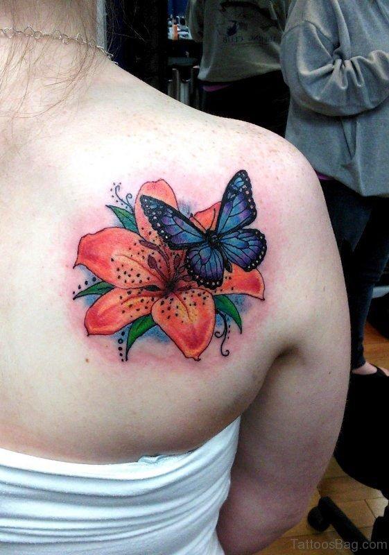 Nice Tattoo On Shoulder Back