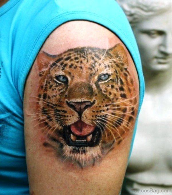 Nice Tiger Tattoo Design