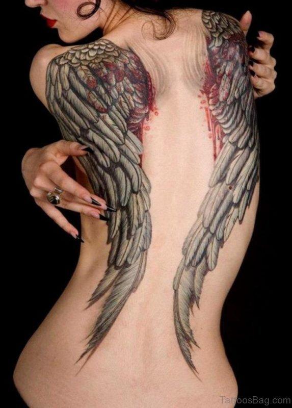 Nice Wings Tattoo