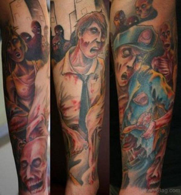 Nice Zombie Tattoo