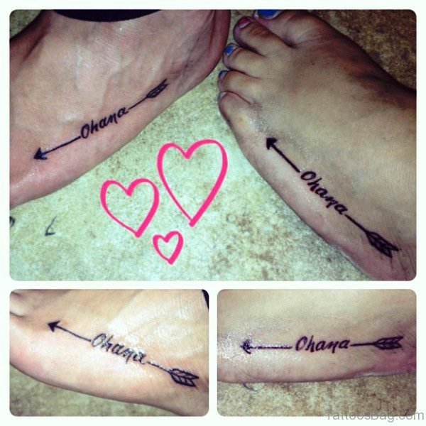 72 great arrow tattoos on foot