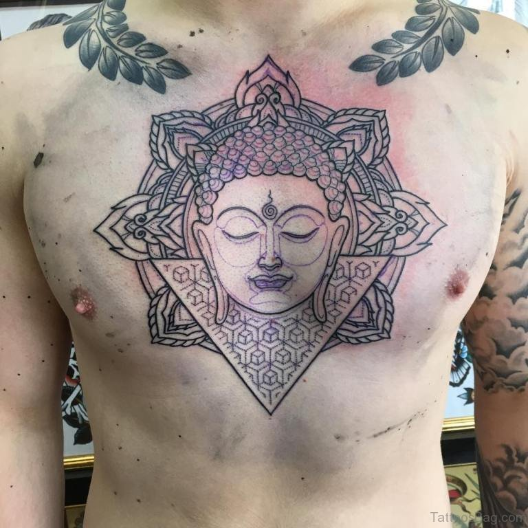 Tattoo Design Maker 1080 1080: 41 Religious Buddha Tattoos For Chest