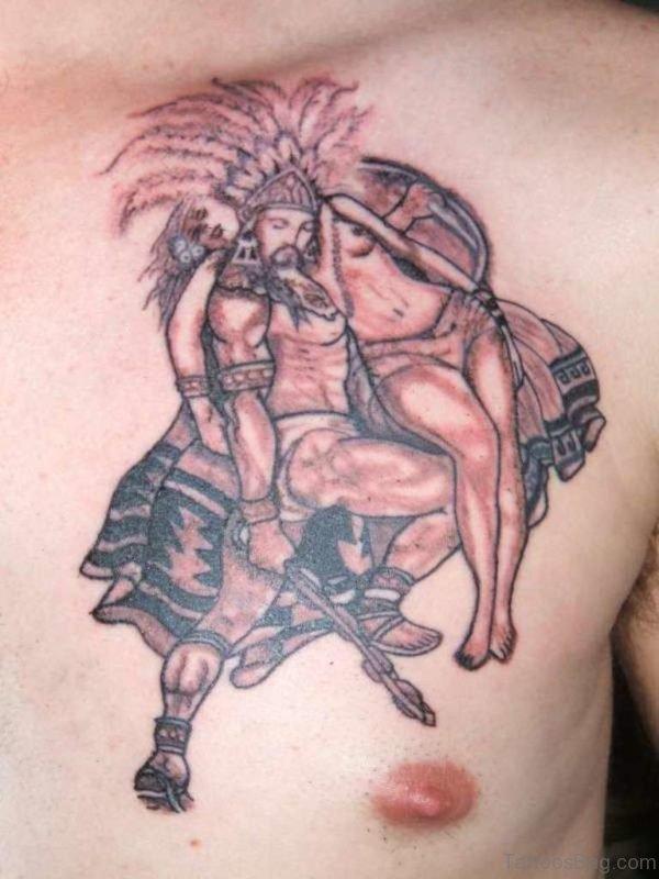 Outstanding Aztec Tattoo