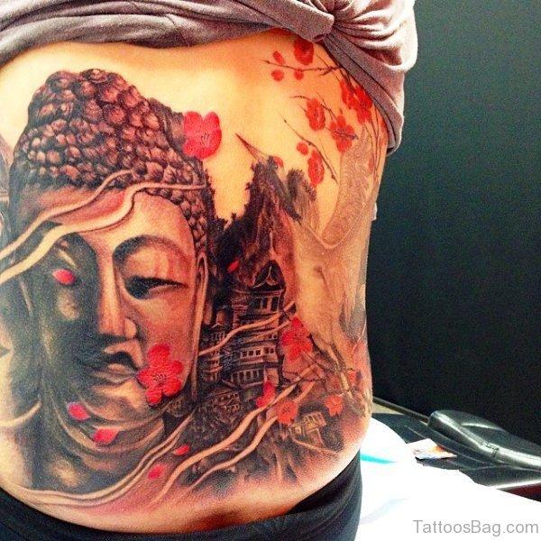 Outstanding Buddha Tattoo Design 1