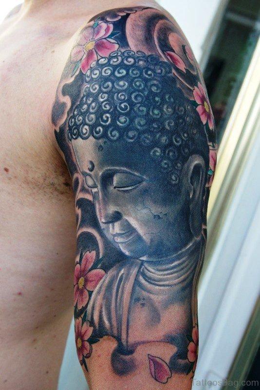 Outstanding Buddha Tattoo Full Sleeve