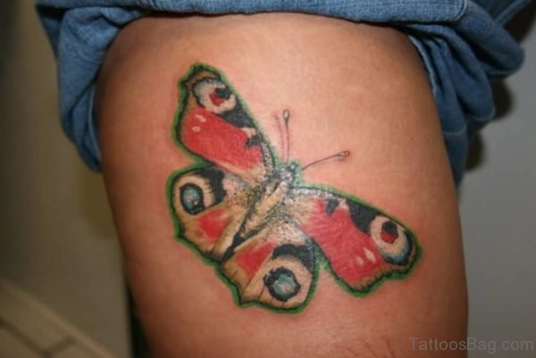 Outstanding Butterfly Tattoo Design