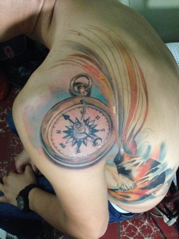 Outstanding Compass Tattoo