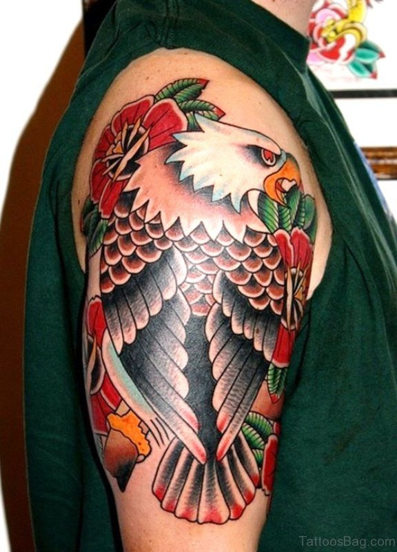 Outstanding Eagle Tattoo Design