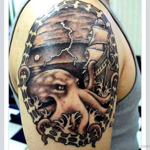 Outstanding Octopus Tattoo