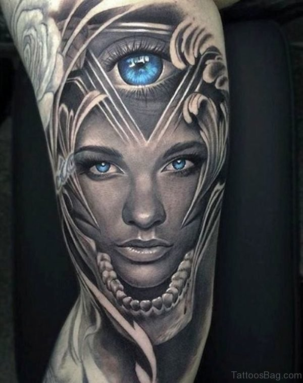 Outstanding Portrait Tattoo