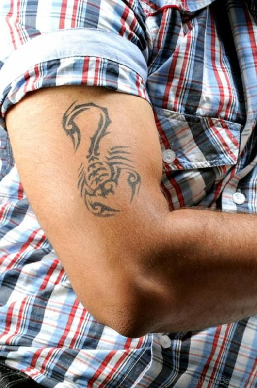 Outstanding Scorpion Tattoo