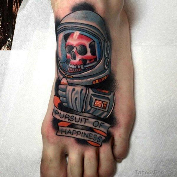 Outstaning Skull Tattoo