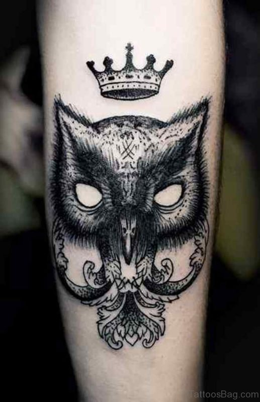 Owl Mask Tattoo