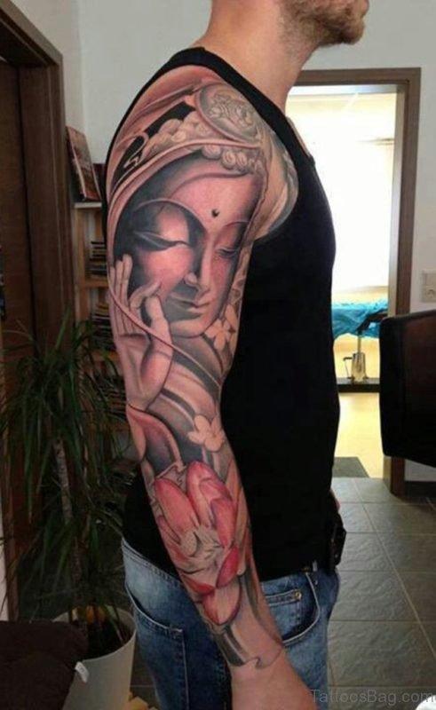 Peaceful Buddha Tattoo