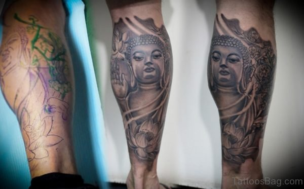 Peaceful Buddha Tattoo