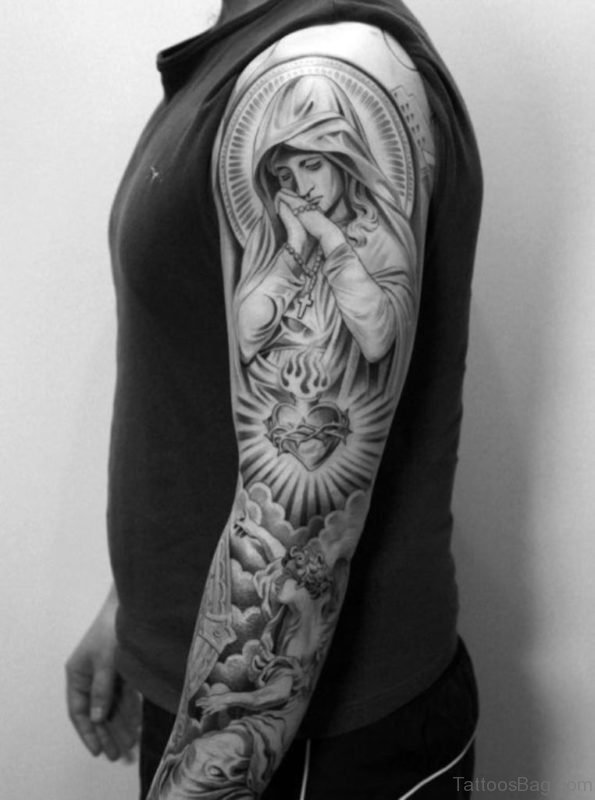 Perfect Angel Tattoo Design