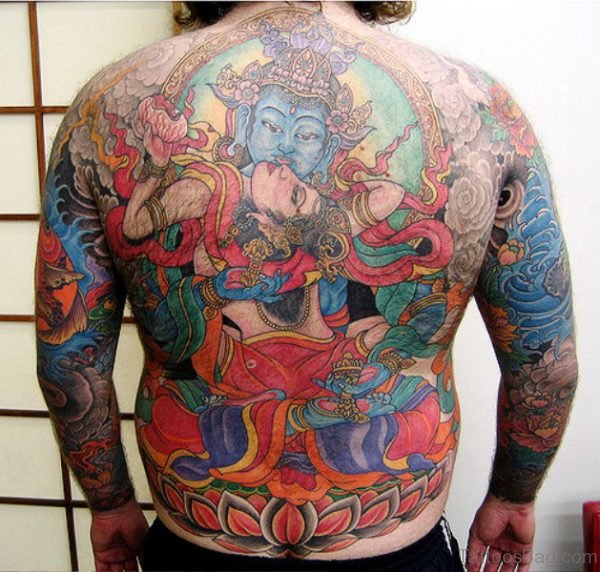 Perfect Buddha Tattoo Design 1