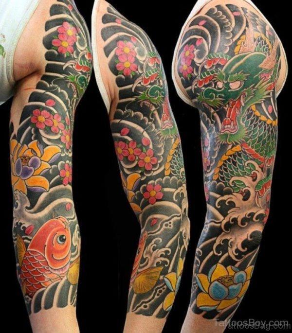 Perfect Dragon Tattoo