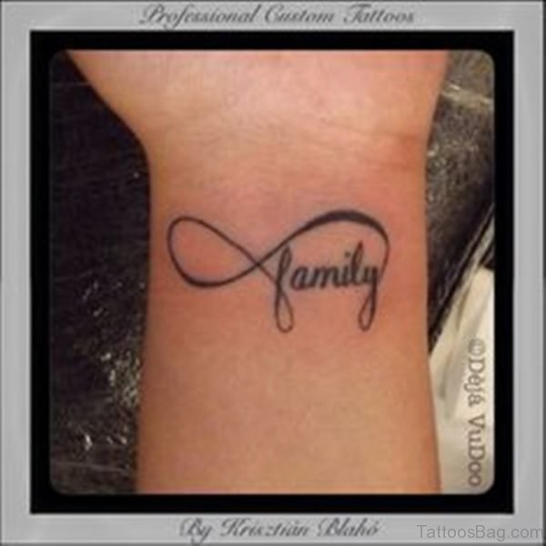 Perfect Infinity Family Tattoo