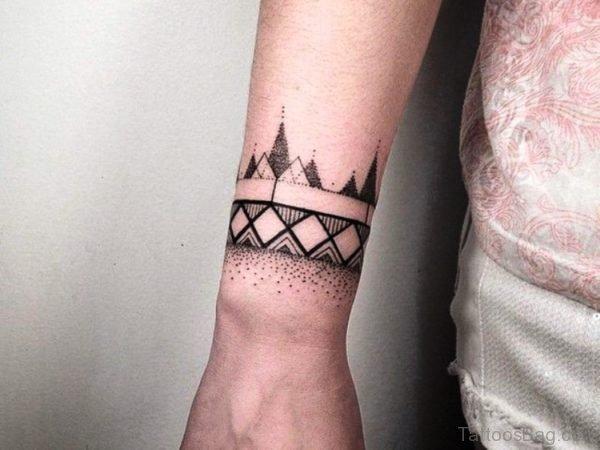 Perfect Tattoo Design On Wrist