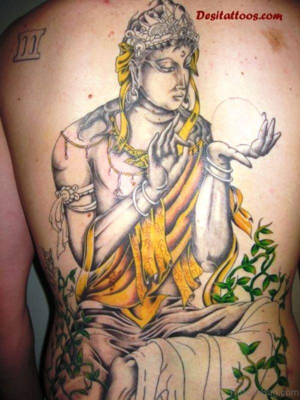Phenomenal Buddha Tattoo Design 1