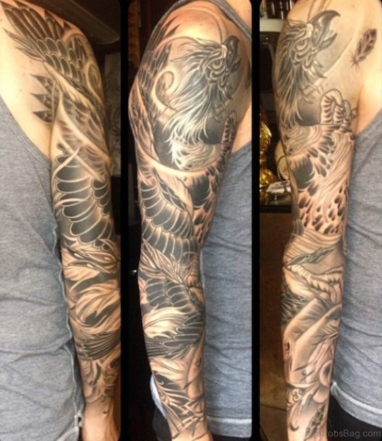 60 perfect full sleeve tattoo for men for Male sleeve tattoo ideas