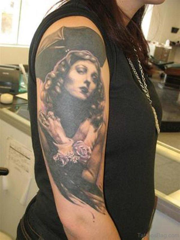 Pinup Girl Tattoo304