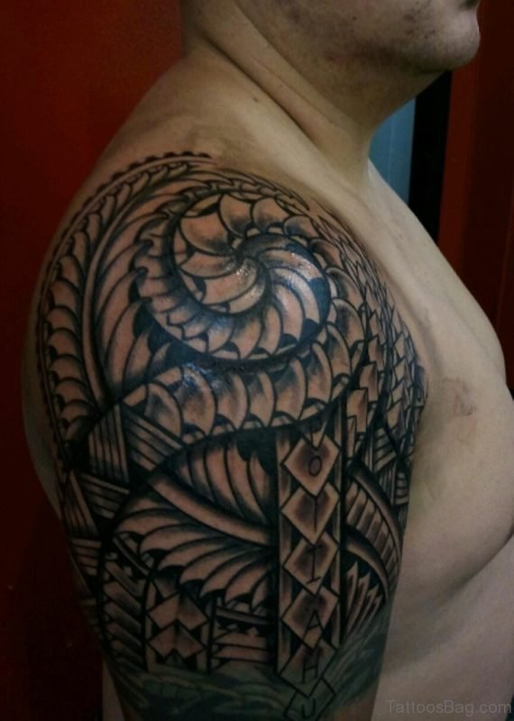 Polynesian Arm Samoan Tattoo