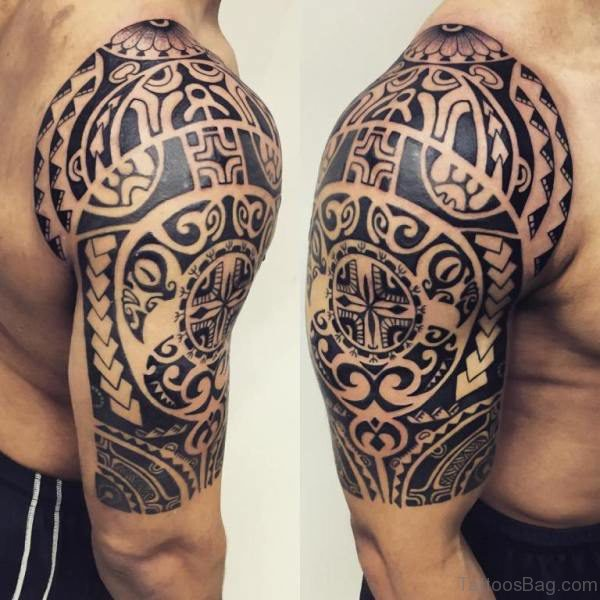Polynesian Tribal Samoan Tattoo