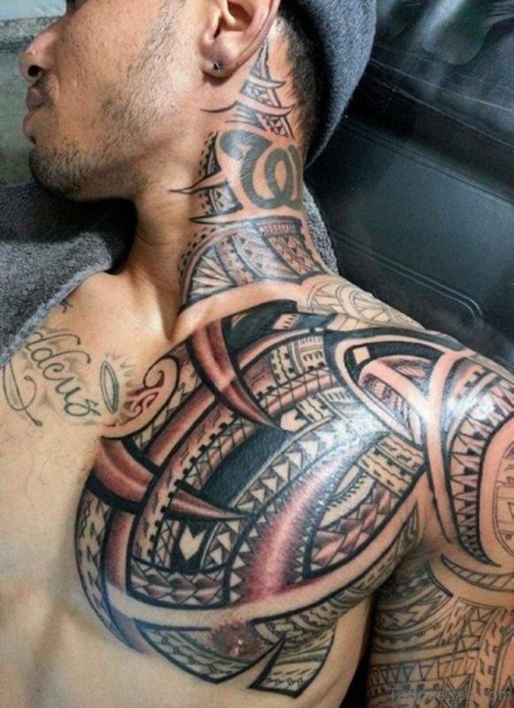 Polynesian Tribal Tattoo Design