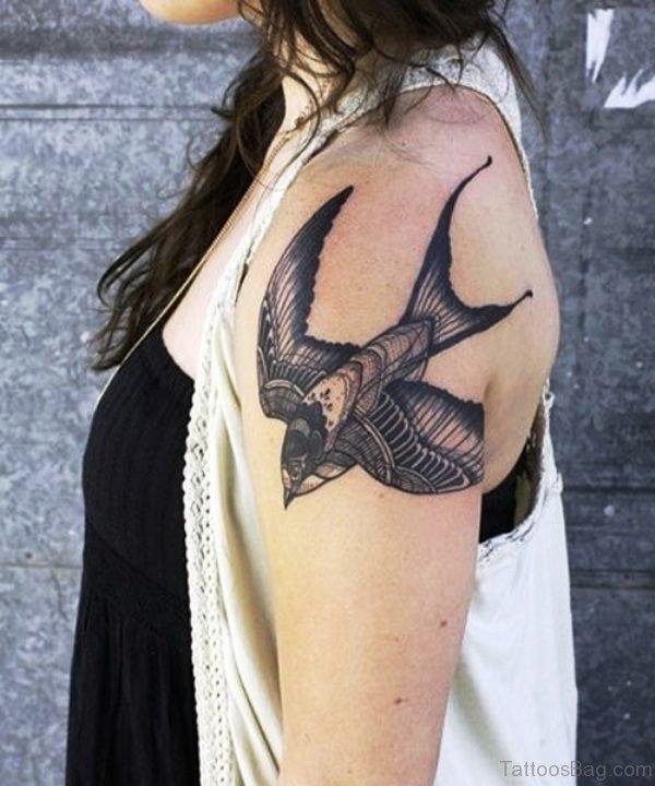 Preety Bird Tattoo