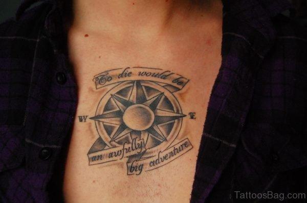 Pretty Compass Tattoo