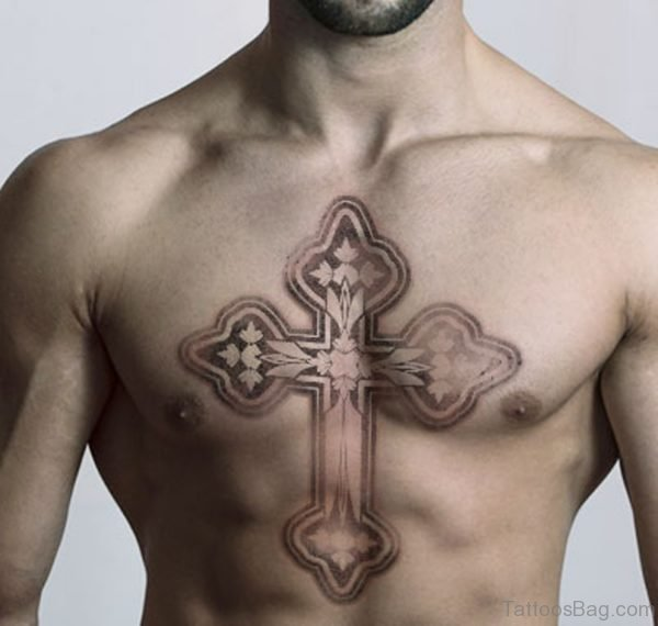 Pretty Cross Tattoo