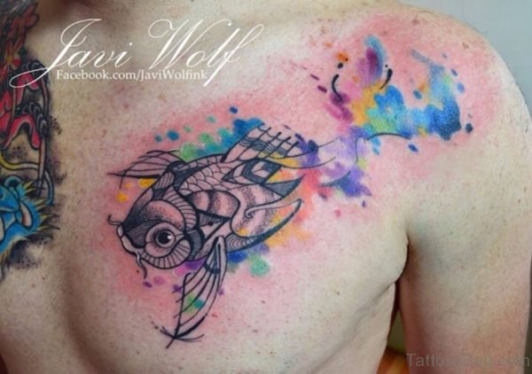 Pretty Fish Tattoo