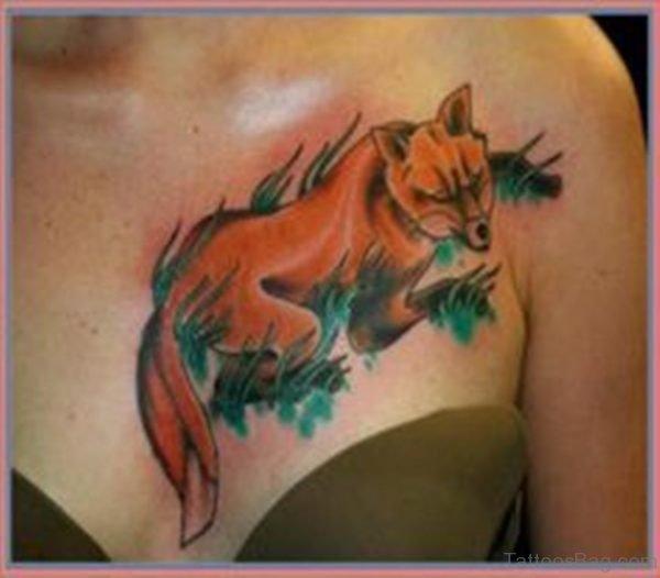 Pretty Fox Tattoo