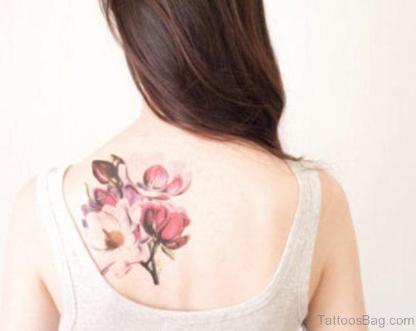 Pretty Magnolia Tattoo