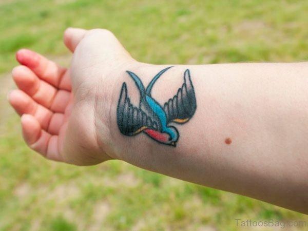 Pretty Swallow Tattoo