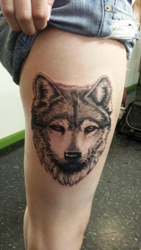 Pretty Wolf  Tattoo