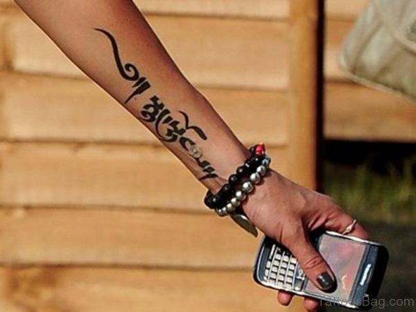 Pretty Wording Tattoo