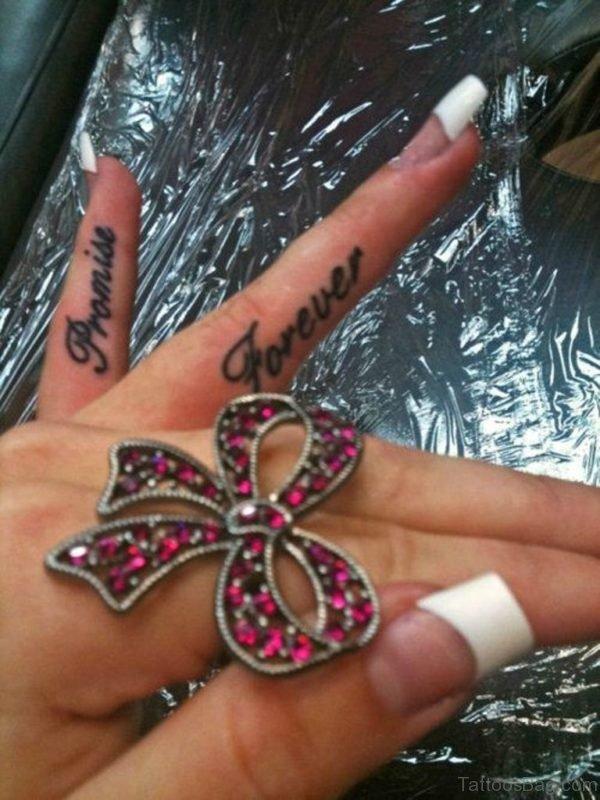 Promise Forever Tattoo