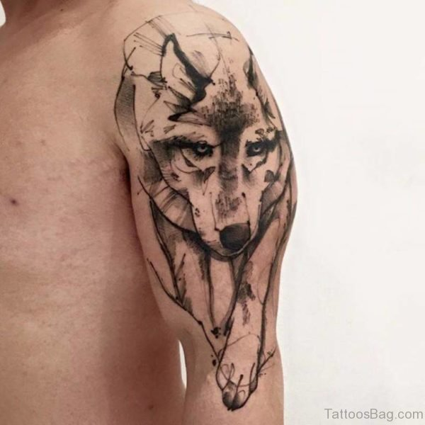 Ravishing Wolf Tattoo