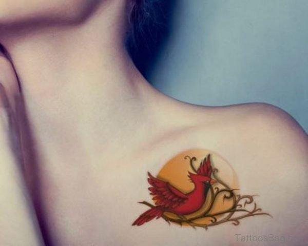 Red Bird Tattoo