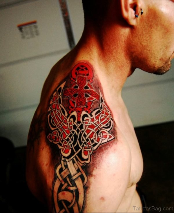 Red Celtic Tattoo