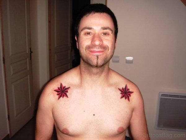 Red Stars Tattoo