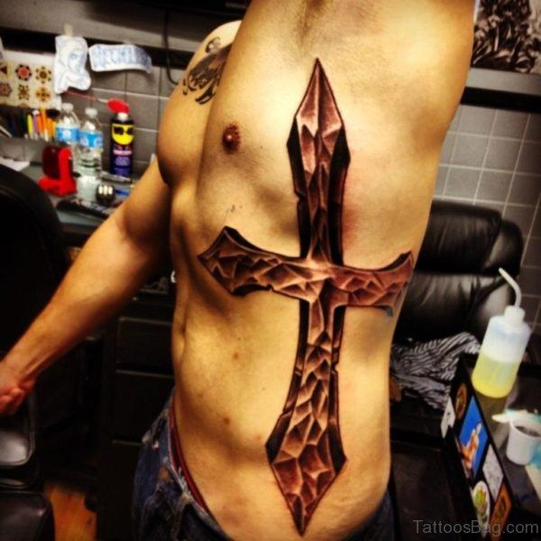 Religious Cross Tattoo