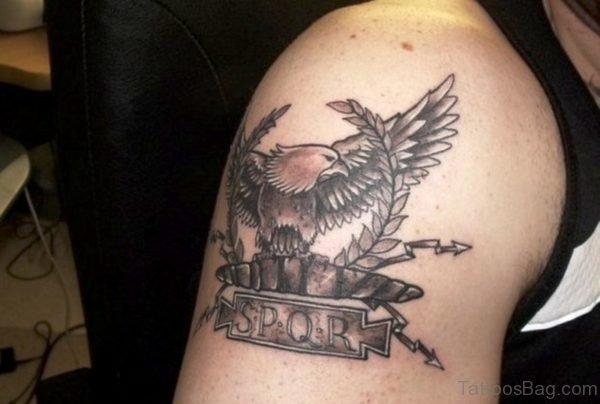 Roman Eagle Tattoo