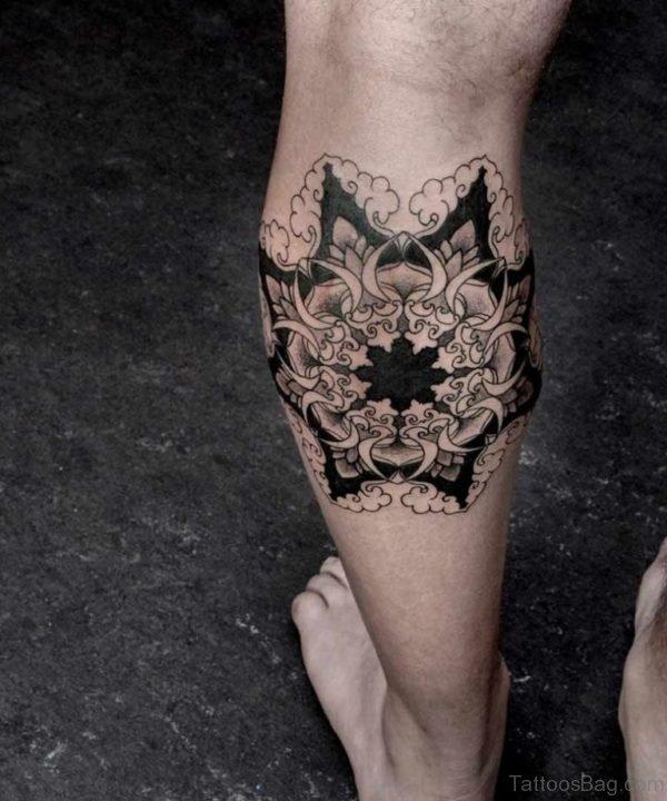 Round Geometric Tattoo